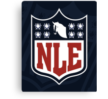National League of Evil Canvas Print