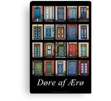 Doors of Aero Canvas Print