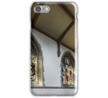 St. James church  windows iPhone Case/Skin