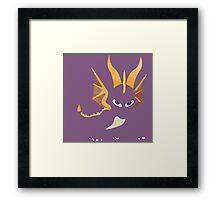 Project Silhouette 2.0: Spyro Framed Print