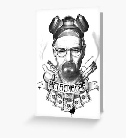 Breaking Bad/ Heisenberg Greeting Card