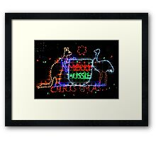 Merry Aussie Christmas Framed Print