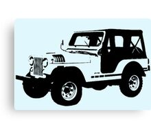 Teen Wolf - Stiles' Jeep Canvas Print