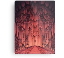 The Gates of Barad Dûr Metal Print