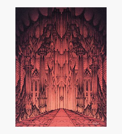 The Gates of Barad Dûr Photographic Print