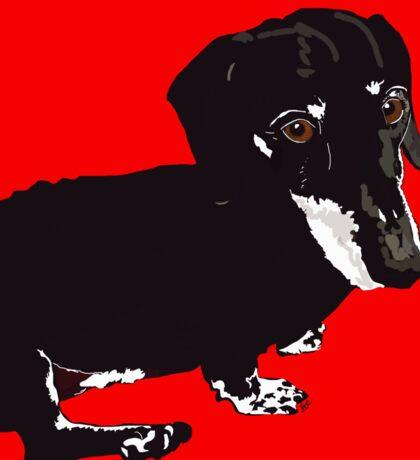 Daschound Dog Sticker