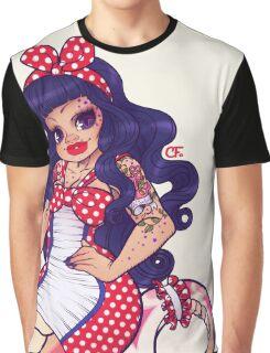 Rockabilly Naga Eliza Graphic T-Shirt