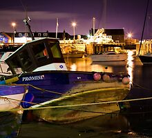 Stonehaven harbour - boats by Matthew Gordon