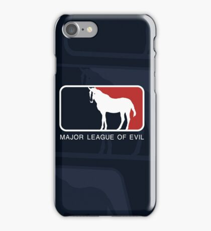 Major League of Evil iPhone Case/Skin