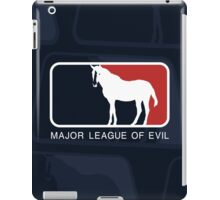 Major League of Evil iPad Case/Skin