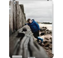Nathan at Lossiemouth beach iPad Case/Skin