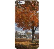 Autumn Picnic iPhone Case/Skin