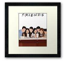 Friends American sitcom / Television series Framed Print