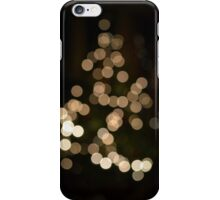 Christmas Tree Bokeh iPhone Case/Skin