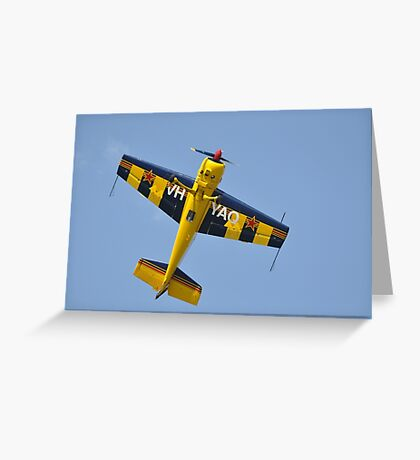 Kempsey Air Show, Australia 2016-Yak-54 VH-YAQ Greeting Card