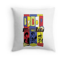 Radio Bebop Throw Pillow