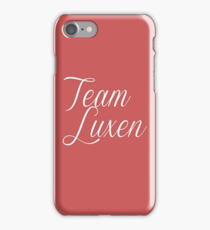 Team Luxen iPhone Case/Skin