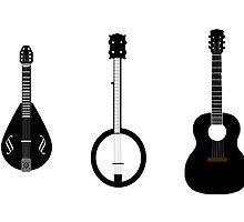 The Folk Musician by bleastudios