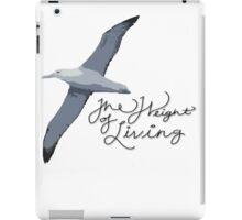 Weight Of Living Albatross iPad Case/Skin