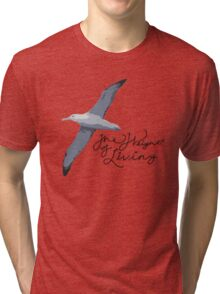 Weight Of Living Albatross Tri-blend T-Shirt