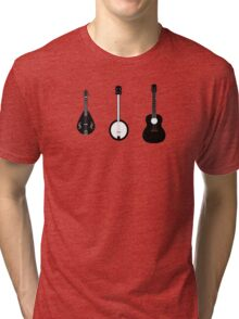 The Folk Musician Tri-blend T-Shirt