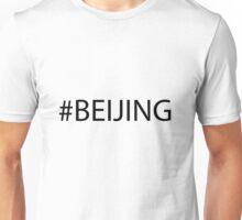 #Beijing Black Unisex T-Shirt