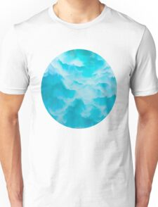 Clouds and mountains. Abstract. Unisex T-Shirt
