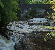 River Moriston, Invermoriston, Highland, Scotland by fotosic