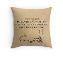 The Hobbit // Tolkien Minimalist Design Throw Pillow