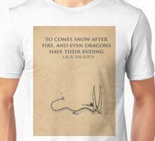The Hobbit // Tolkien Minimalist Design Unisex T-Shirt
