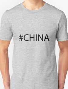 #China Black T-Shirt
