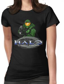Halo Combat Evolved pixel art Womens Fitted T-Shirt