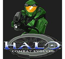 Halo Combat Evolved pixel art Photographic Print