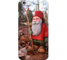 St. Nicholas Out for an Autumn Walk iPhone Case/Skin