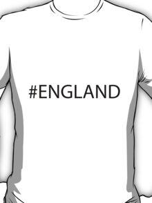 #England Black T-Shirt