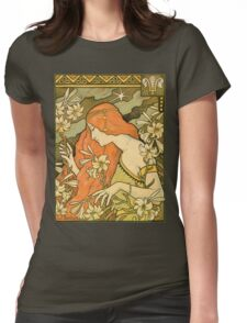 L´ermitage Womens Fitted T-Shirt