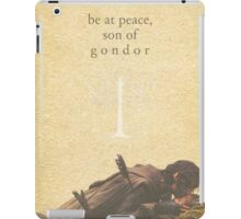 LOTR- Aragorn and Boromir iPad Case/Skin