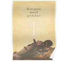LOTR- Aragorn and Boromir Poster