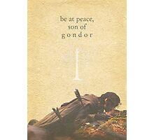 LOTR- Aragorn and Boromir Photographic Print
