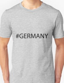 #Germany Black T-Shirt