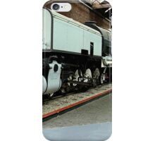 My wife bought me a new engine for my train set........! iPhone Case/Skin