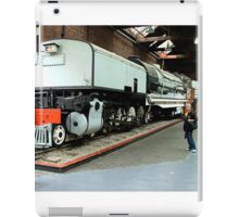 My wife bought me a new engine for my train set........! iPad Case/Skin