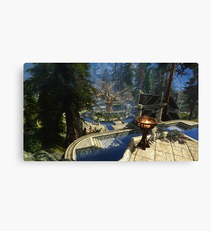Whiterun HD Canvas Print