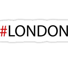 #London Black Sticker