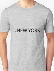 #New York Black T-Shirt