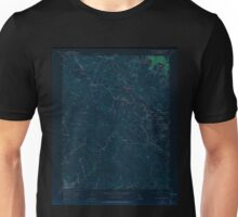 USGS TOPO Map California CA Castle Rock Ridge 302647 1955 24000 geo Inverted Unisex T-Shirt