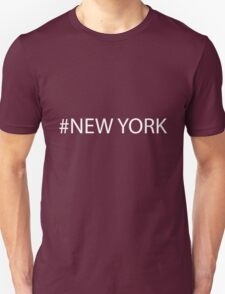 #New York White T-Shirt