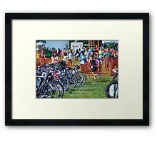 Kelly in Transition, 2014.08.17 Framed Print