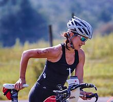 Kelly and Bike, 2014.08.17 by Aaron Campbell