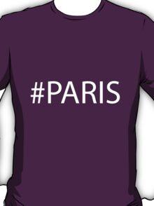 #Paris White T-Shirt